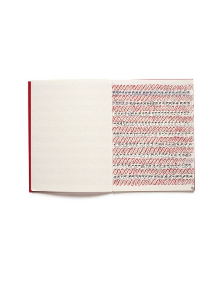 Cuaderno de artista Louise Bourgeois