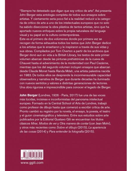 John Berger, Sobre los artistas Vol.1
