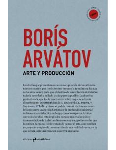 Borís Arvátov, Arte y Producción