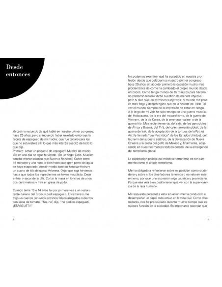 Diseñador/Ciudadano Cuatro lecciones breves (más o menos sobre diseño), Milton Glaser