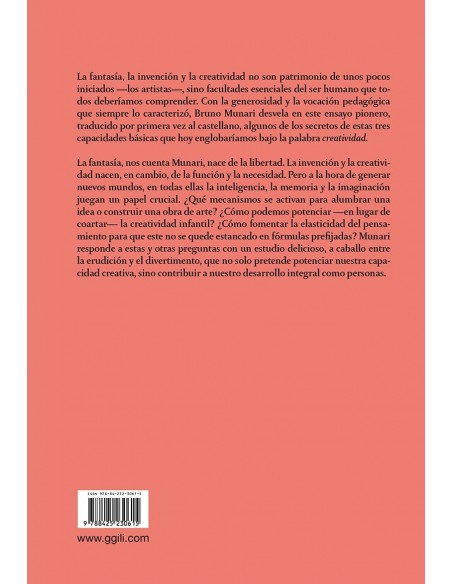Fantasía Invención, creatividad e imaginación en las comunicaciones visuales, Bruno Munari