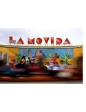 Atracción de feria en las fiestas de carnaval de Tenerife