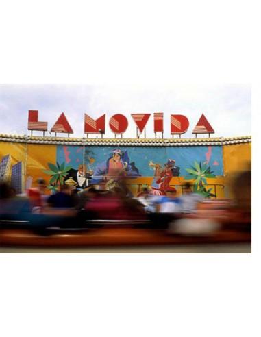 Atracción de feria en las fiestas de carnaval de Tenerife, 1993