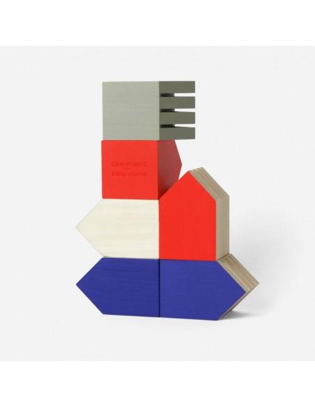 Papier Tigre - Tiny House Red