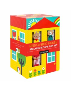 Petit Collage - Peekaboo House