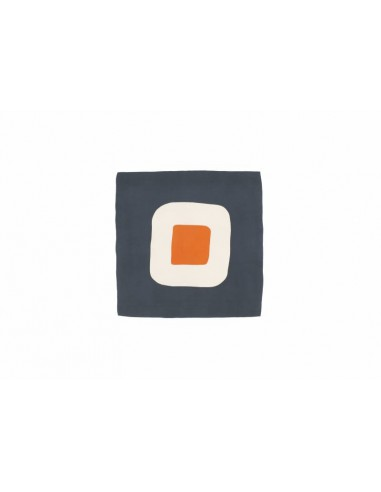 MOIS MONT - Dutch Grey silk square,...