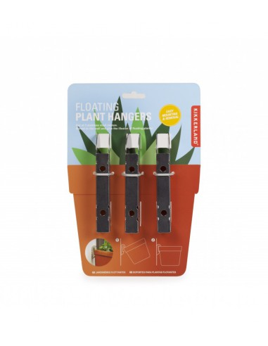 Floating plant hangers. Kikkerland