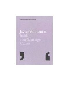 Javier Vallhonrat habla con Santiago Olmo