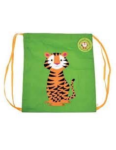 Mochila tigre con cuerdas