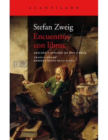 Stefan Zweig, Encuentros con libros