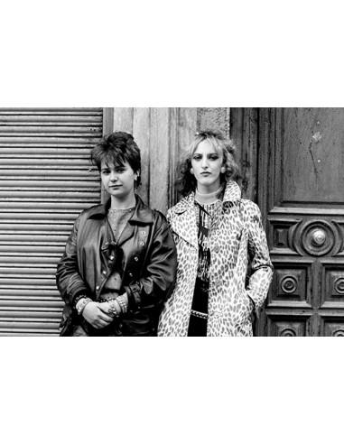 Domingo en el Rastro, Madrid, 1982