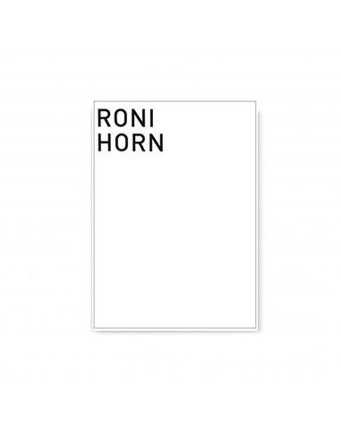 Cuaderno de Artista de Roni Horn