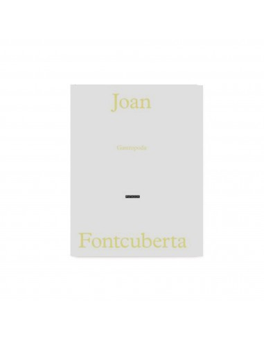 Cuaderno de artista de Joan Fontcuberta
