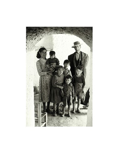 Familia de Guadix, Granada, 1956