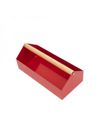 Caja organizadora de herramientas.