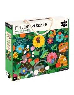 Puzzle de suelo jardín secreto