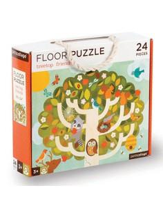 Puzzle de suelo amigos del...