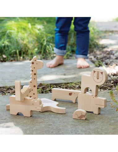 Puzzle madera Safari