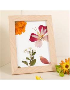 Marco para flores secas