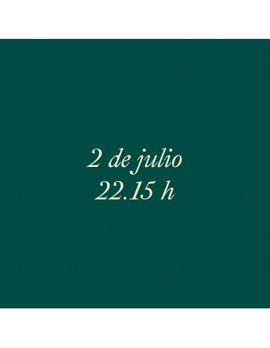 22:15h 2.07.2021 Los paseos musicales...