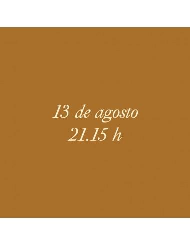 21:15h 13.08.2021 Los paseos...