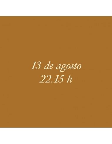 22:15h 13.08.2021 Los paseos...