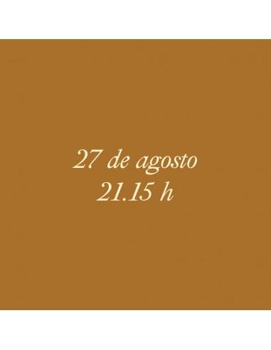 21:15h 27.08.2021 Los paseos...