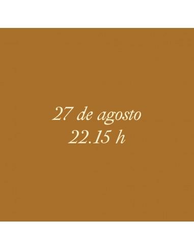 22:15h 27.08.2021 Los paseos...