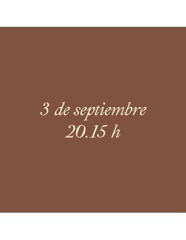 20:15h 03.09.2021 Los paseos...