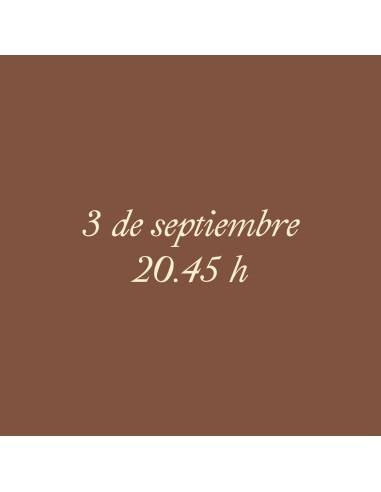 20:45h 03.09.2021 Los paseos...