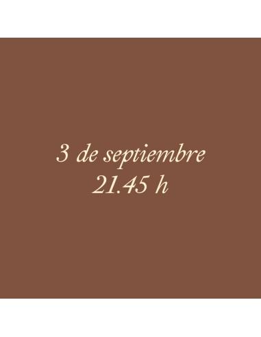 21:45h 03.09.2021 Los paseos...
