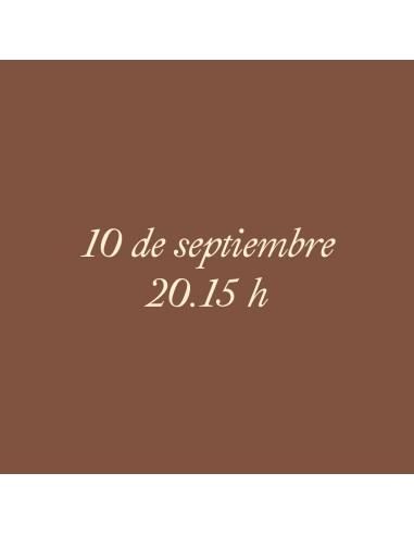 20:15h 10.09.2021 Los paseos...
