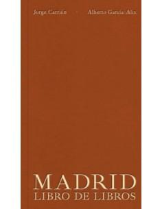 Jorge Carrión, Madrid libro...