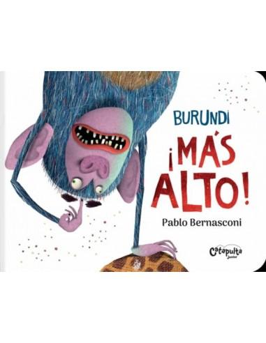 Pablo Bernasconi, Burundi ¡Más alto!