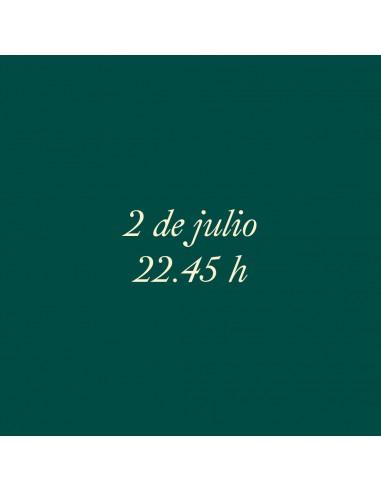 22:45h 2.07.2021 Los paseos musicales...