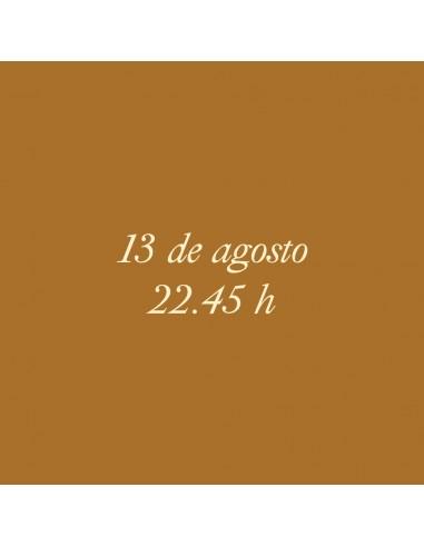 22:45h 13.08.2021 Los paseos...