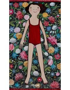 """Eva Armisén, Toalla """"flores"""""""