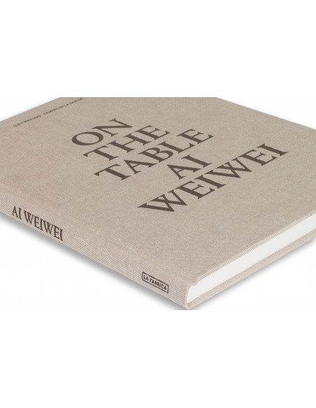 On the table. Ai Weiwei