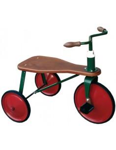 Triciclo Madera Rojo Pequeño