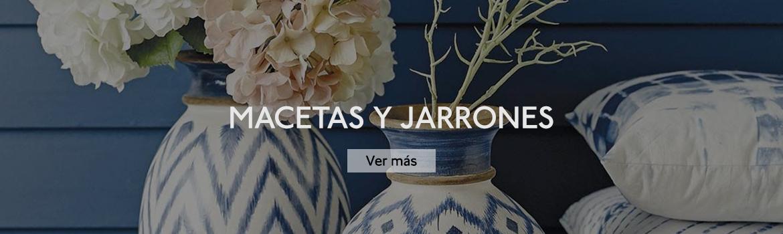 MACETAS Y JARRONES