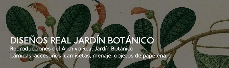 Diseños Real Jardín Botánico. Reproducciones del Archivo Real Jardín Botánico. Láminas,accesorios,camisetas, objetos de papelería...